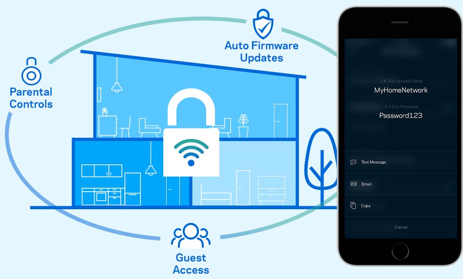 How do I download and use the Linksys app